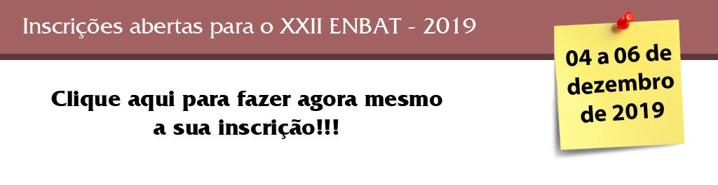ENBAT XXII 2019